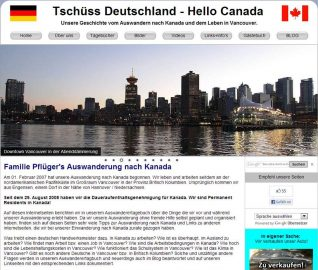 Tschuess Deutschland - Hello Canada