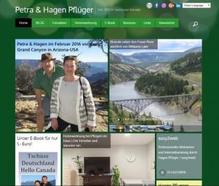 Homepage Petra & Hagen Pflueger